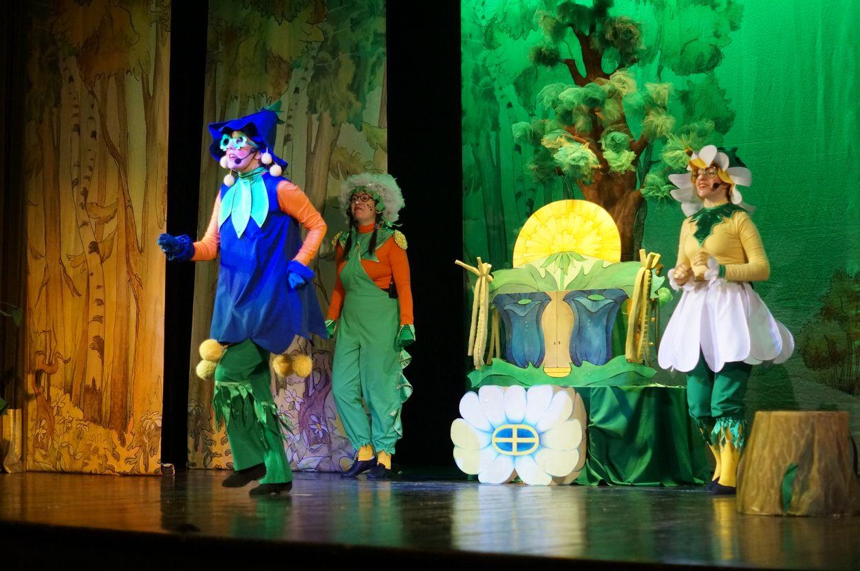 «Теремок для цветов»: в театр кукол приехали гости из Тамбова