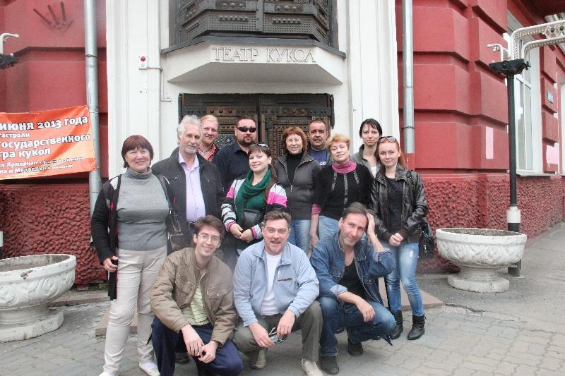 Гастрольный тур Липецкого государственного театра кукол в городе Красноярске