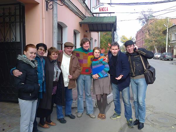 Липецкий государственный театр кукол гастролировал в городе Астрахань