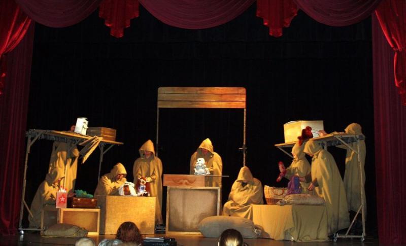 Гастроли Липецкого театра в городе Санкт-Петербурге