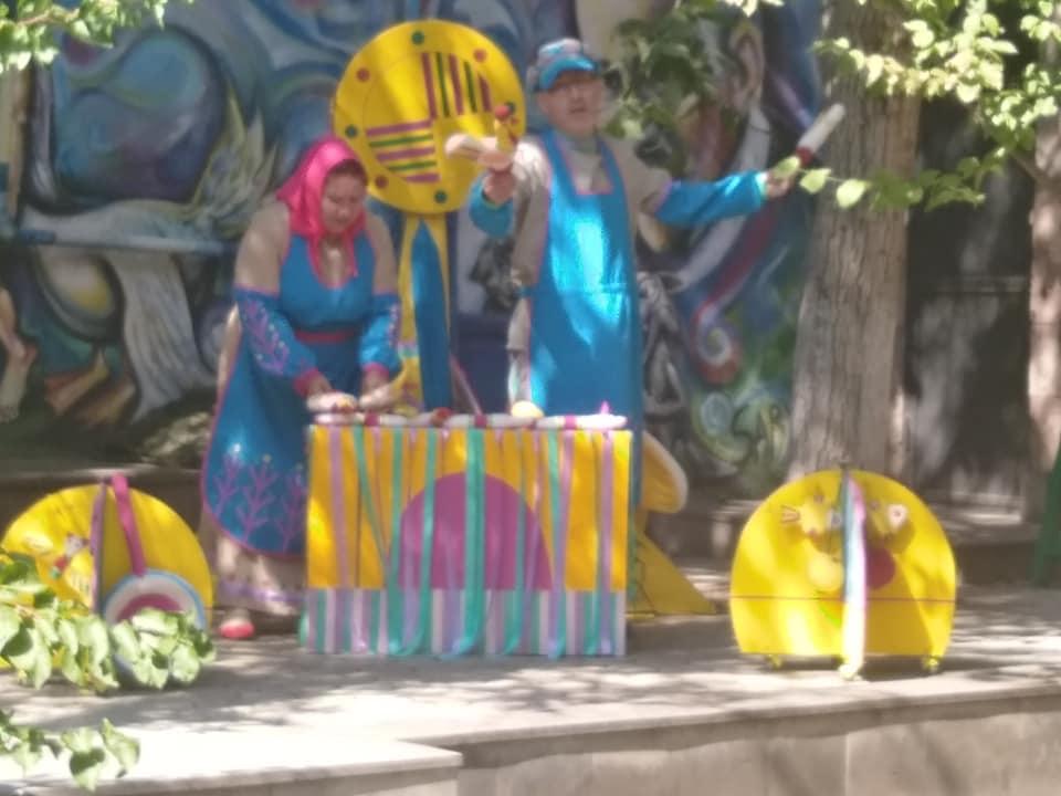 Липецкие кукольники на фестивале в Ереване