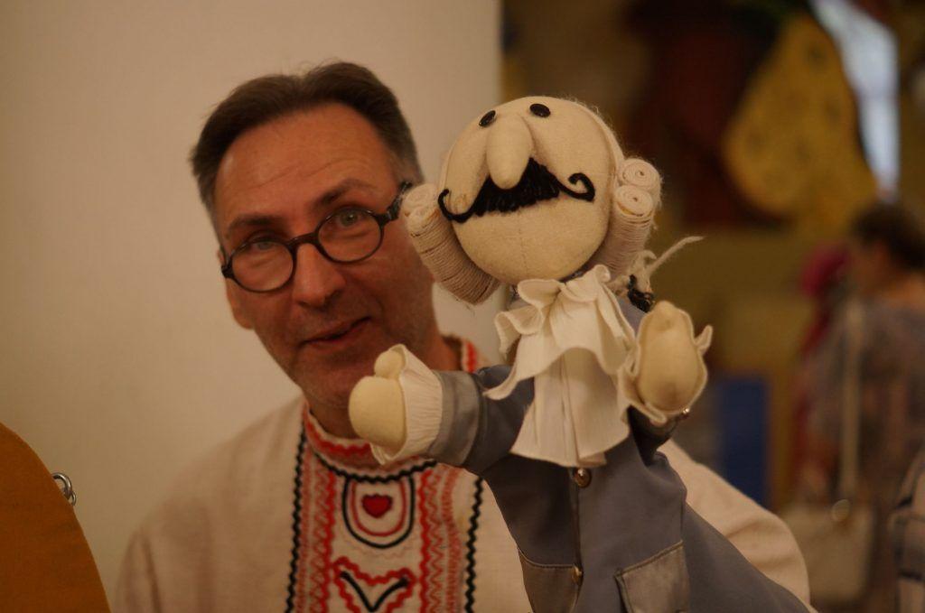 Липецкий артист-кукловод отмечает свой юбилей